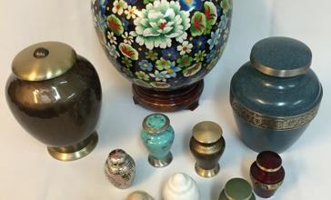 Urns and Majolica Ware